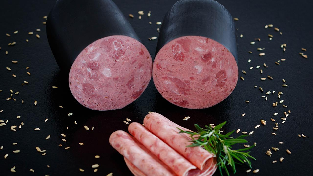 Frischwurstaufschnitt Tirolerwurst