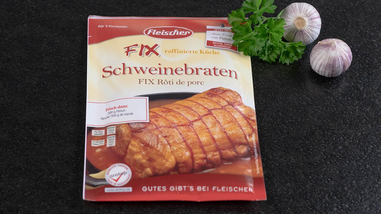 Fleischer Fix Schweinebraten
